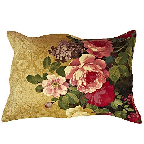 alicemall 4Stück 3D Bettwäsche Sets Antik Luxus Ölgemälde Blumen Print 4Stück Tagesdecken und Bettbezug Sets, Floral Royal Home Bettwäsche Sets, keine Tröster, baumwolle, Multi Color, 2*PillowSham -