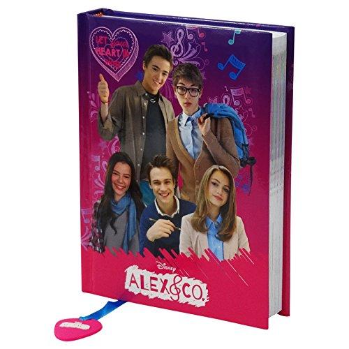 Disney alex co diario scolastico 12 mesi rosa viola for Amazon canta tu alex e co