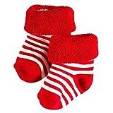 FALKE Baby Socken Erstlingringel 2er Pack, Größe:50-56 (0-1 Monate);Farbe:Fire (8150)