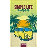 Bubel Simple Life Toalla Técnica, Microfibra, Multicolor, 175x95x0.03 cm
