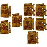 T T Traditionally Handmade Suji Rusk & Milk Rusk (Pack Of 8)-5 Pack Of 275 Gram & 3 Pack Of 350 Gram