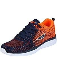 Red Tape Men's Blue/Orange Running Shoes