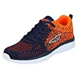Red Tape Men's Blue/Orange Running Shoes - 9 UK / India (43 EU)(RSC0284)