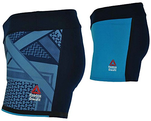 Reebok-RCF-Chase-Bootie-Short-Womens-Studio-Fitness-Crossfit-Shorts-Navy