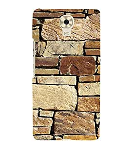 FUSON Stone Wall Eastern Corsica 3D Hard Polycarbonate Designer Back Case Cover for Gionee M6