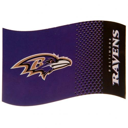 NFL Football Flagge Fahne Flag BALTIMORE RAVENS Fade
