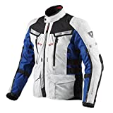 Chaqueta REV'IT! Sand 2 paramoto BMW Motorrad M Plata - Azul