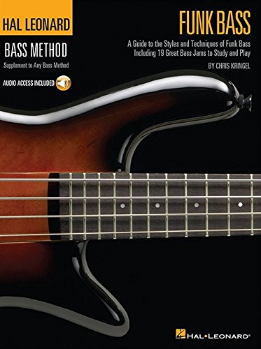 Hal Leonard Bass Method: Funk Bass (Book/Online Audio)