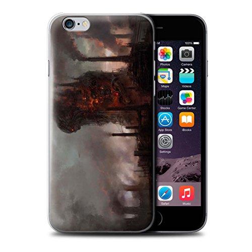 Offiziell Chris Cold Hülle / Case für Apple iPhone 6 / Pack 8pcs Muster / Gefallene Erde Kollektion Industrie Maschine