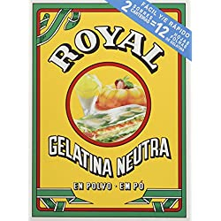 Royal - Gelatina Sin Sabor - [pack de 4]
