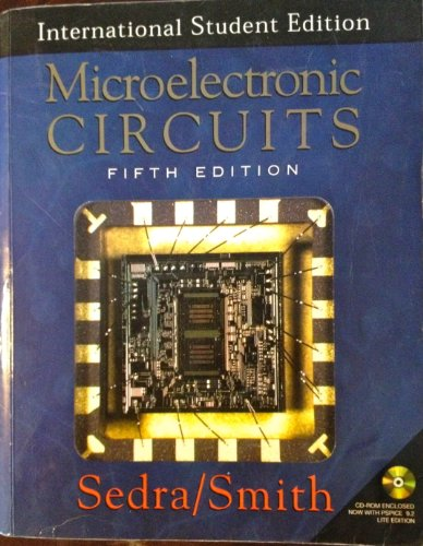 Microelectronic Circuits 5TH Edition Text Only