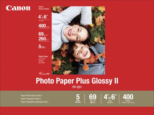 Canon CANON PHOTO PAPIER 10X15 PP-201, 400 - Plus Glossy Ii Paper Photo