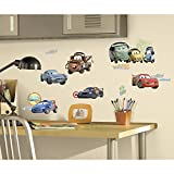 RoomMates 15830 - Disney Cars Wandtattoos/Sticker, geblistert, 4 Blätter, 26 Elemente