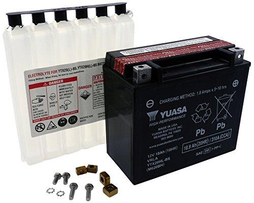 Batteria YUASA - YTX20HL-BS senza manutenzione per Harley Davidson FLSTCI 1450 Harley Davidson FLSTCI 1450