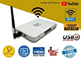 STC STB Free to Air Full HD Set Top Box with WiFi Receiver