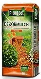 Rindenmulch Dekor 50 Liter Orange Deko