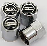 Nissan Radventil-Staubkappen, Chrom Juke/Micra/370Z/Qashqai/X-Trail/Murano