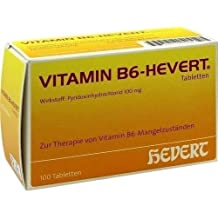Vitamin B6-Hevert Tabletten, 100 St.