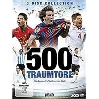 500 Traumtore - Die besten Fußballtore der Welt [3 DVDs]