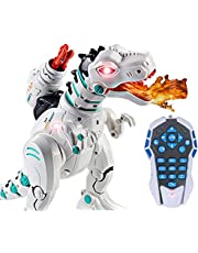Jack Royal Wireless Remote Control Cenozoic Dinosaur II - Atomized Fire Breathing, Parent Child Interaction, Launch a Bullet, Dances - Color May Vary as per The Availability of Stock
