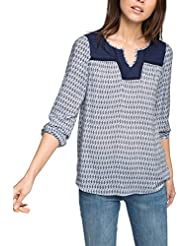 Esprit 026EE1F023 - Blouse - Taille normale - Manches longues - Femme