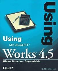 Using Microsoft Works 4X