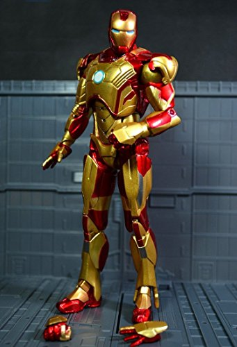 Marvel Super Heroes The Avengers Iron Man 3 Mark 42 PVC Action Figure Collection Model Toy 7