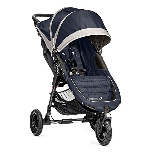 Baby Jogger City Mini GT Kinderwagen, Single-Modell, Midnight Grau - Double Jogger City Mini