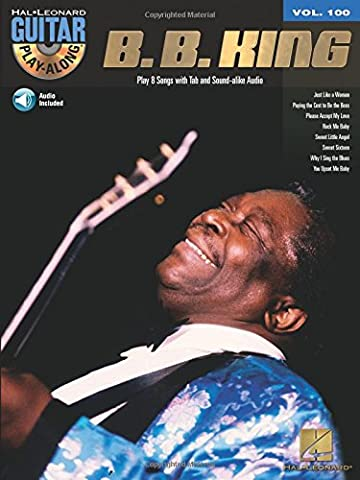 Guitar Play-Along Volume 100 Bb King Gtr Tab Bk/Cd (Hal Leonard Guitar Play-Along)