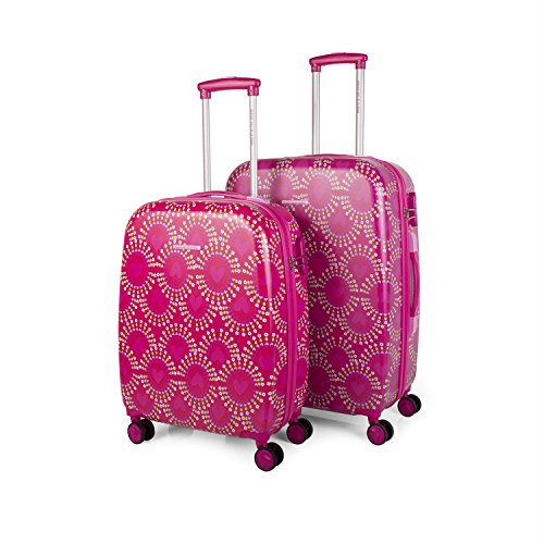 AGATHA RUIZ DE LA PRADA - 68300 SET TROLLEYS 50/60CM, Color Fucsia