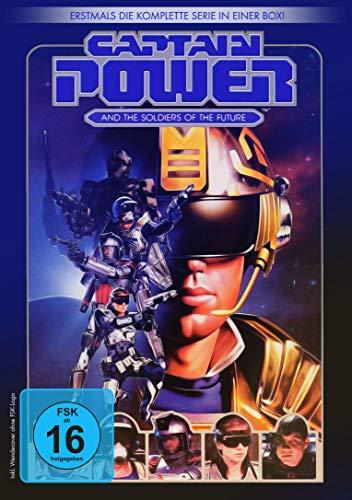 Captain Power - Die komplette Serie [4 DVDs]