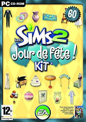 les sims 2 kit jour de f te tous les jeux pc et acc ssoires en 1 clic. Black Bedroom Furniture Sets. Home Design Ideas