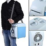 7.5L Mini Refrigerador y Calentador Portátil de Coche (Una Máquina con...