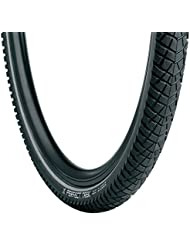 Vredestein Perfect Trek - Cubierta para bicicleta, color negro