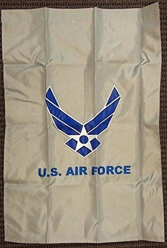 United Vertical Flag (Ramsons Imports United States Air Force Wing Two Sided Embroidered 28x40 In Vertical Banner Flag)
