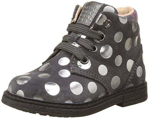 Geox Baby Mädchen B Glimmer C Klassische Stiefel, Grau (Dk Grey), 26 EU