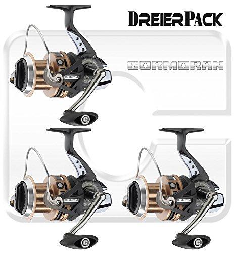 3 Stk. Cormoran Pitcor 5PiF 5500 - Weitwurfrolle (3-er Pack)