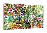 ARTTOR Bild auf Leinwand - Leinwandbilder - DREI Teile - Breite: 105cm, Höhe: 70cm - Bildnummer 3842 - dreiteilig - mehrteilig - zum Aufhängen bereit - Bilder - Kunstdruck - CE105x70-3842