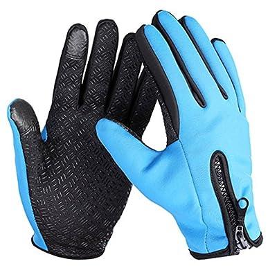 dragonaur Autumn Winter Windproof Waterproof Touch Screen Sports Motorcycle Gloves by dragonaur