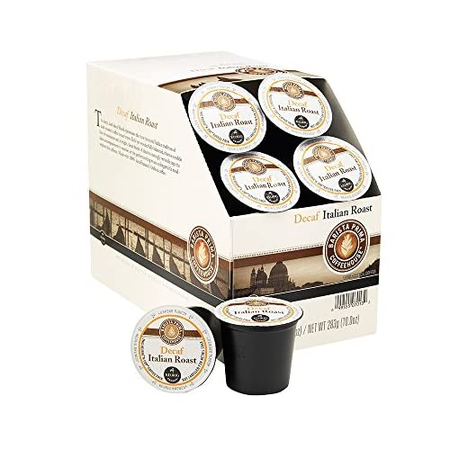 Keurig Barista Prima Coffeehouse Italian Roast Coffee Decaf K-Cup Pods 22's (1 Box)