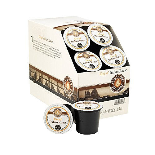 Keurig Barista Prima Coffeehouse Italian Roast Coffee Decaf K-Cup Pods 22's (1 Box) 51Z47CYJH5L