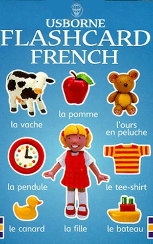 Flashcard French (Usborne - Flashcard Ds