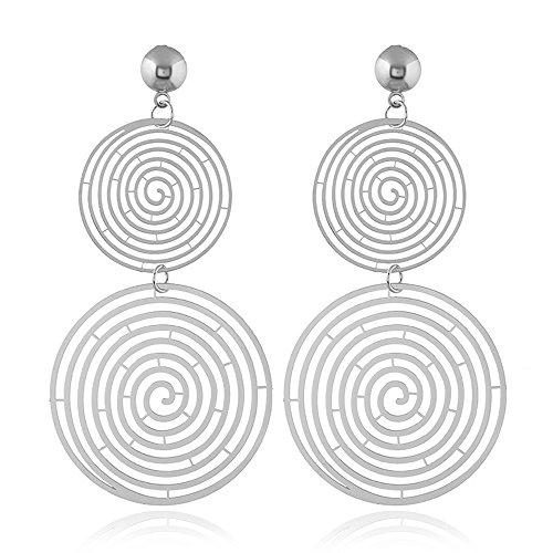 J Meng  -    Kupfer Keine Angabe (Doppel-spirale-ohrring)