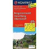 KOMPASS Fahrradkarte Bregenzerwald - Vorarlberg - Oberstdorf: Fahrrad- und Mountainbikekarte. GPS-genau. 1:70000 (KOMPASS-Fahrradkarten Deutschland, Band 3126)