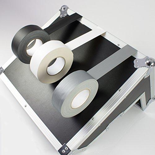 Power Gaffa Tape, matt silber, 50m x 50mm - Gewebeklebeband / Bühnenklebeband - showking