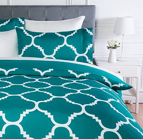 AmazonBasics - Juego ropa cama funda edredón, microfibra