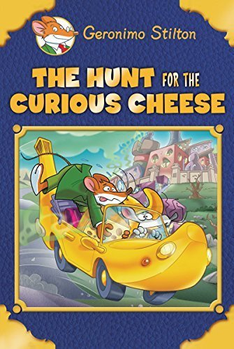 Geronimo Stilton Special Edition: The Hunt for the Curious Cheese by Stilton, Geronimo (2015) Hardcover