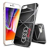 FHHICCGHF iPhone 6S Plus Coque, [Transparente] Coque Arrière en Silicone Résistante aux Chocs et aux Rayures pour iPhone 6S Plus/6 Plus - Crystal Clear KJAJKJDJF00149