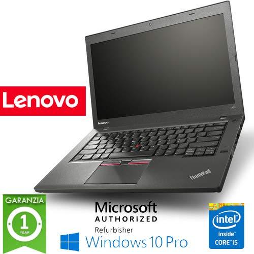 Notebook Lenovo Thinkpad T440p Core i5-4300M 2 6GHz 8Gb 500Gb 14 1in WEBCAM  Windows 10 Professional (Ricondizionato) )