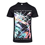 Bullet For My Valentine Offizielles Gravity T Shirt (Schwarz) - Medium